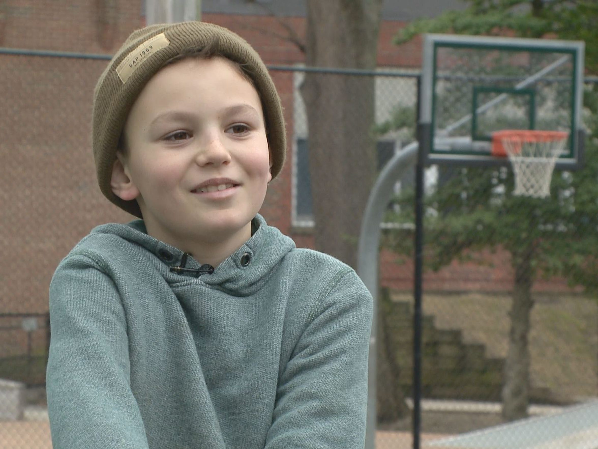 Andrei, age 10, says he feels safe and confident on