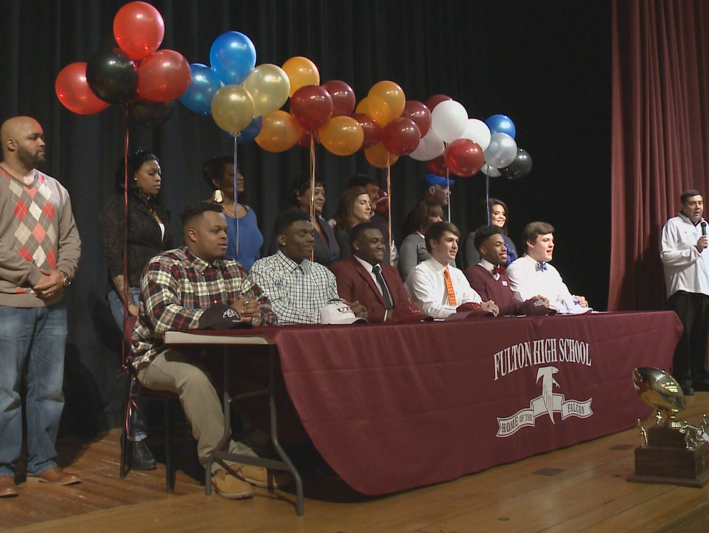 National Signing Day Celebration at Fulton High School