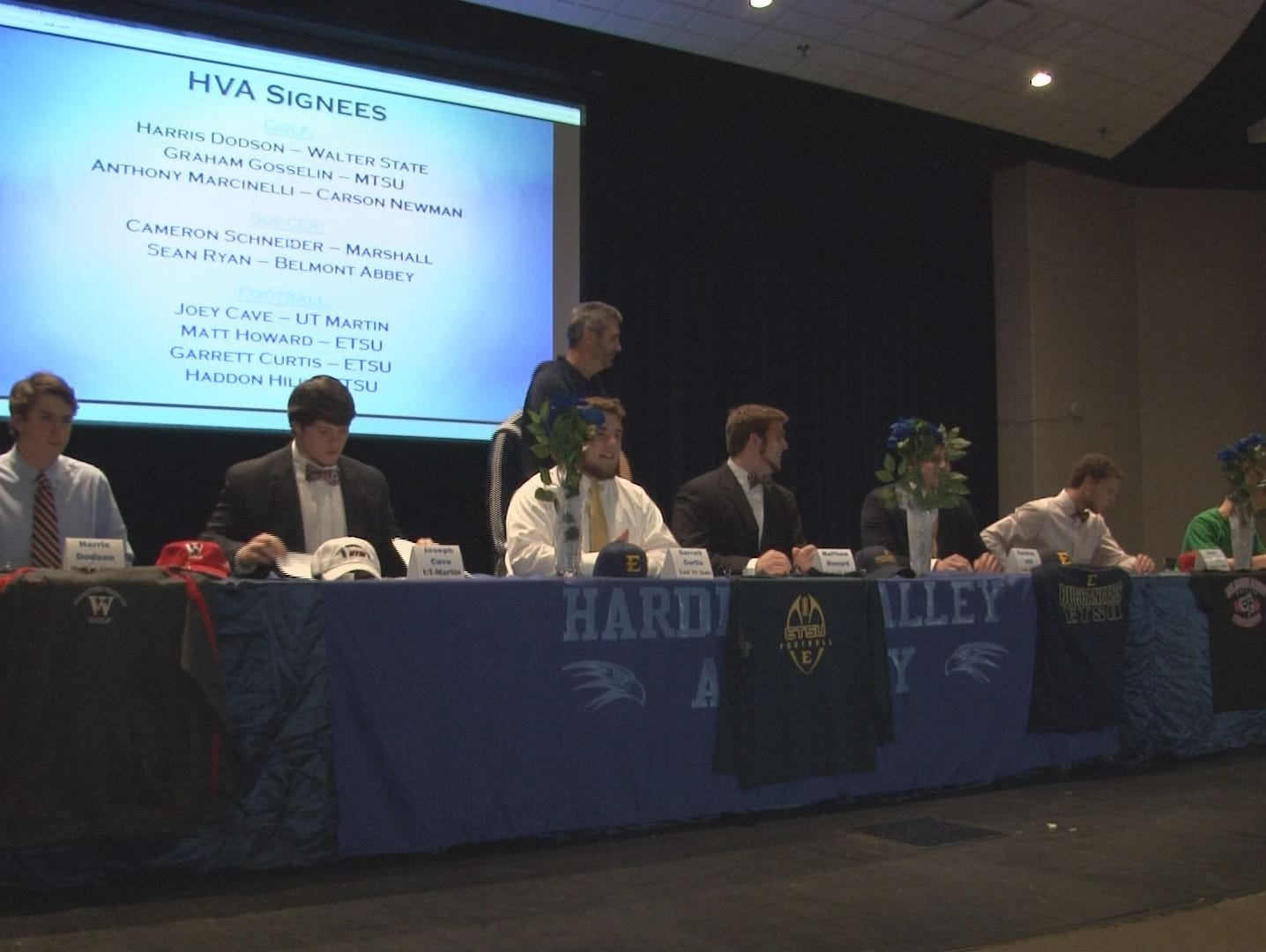 Hardin Valley's 2015 National Signing Day celebration