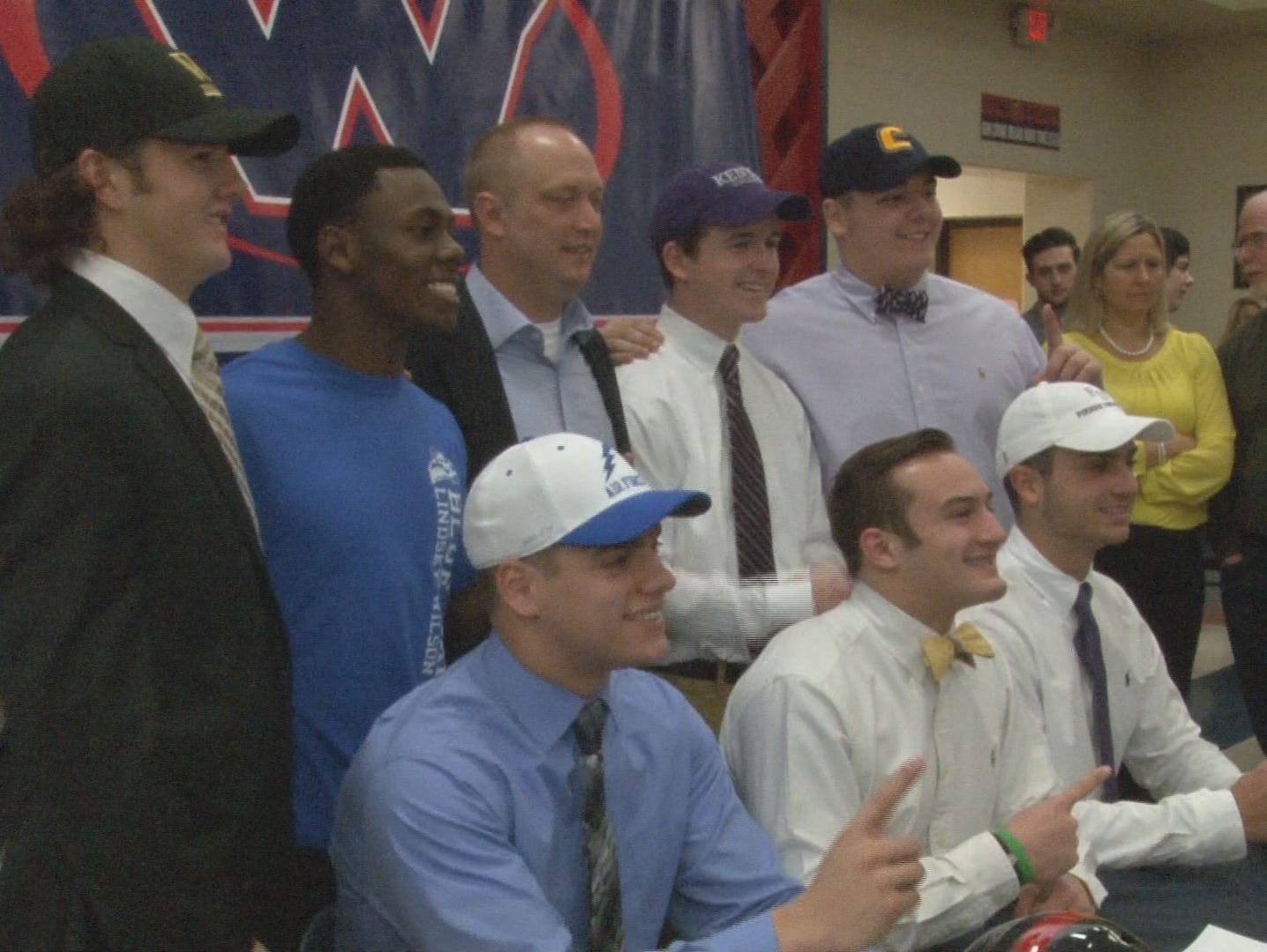 2015 West Football seniors on National Signing Day