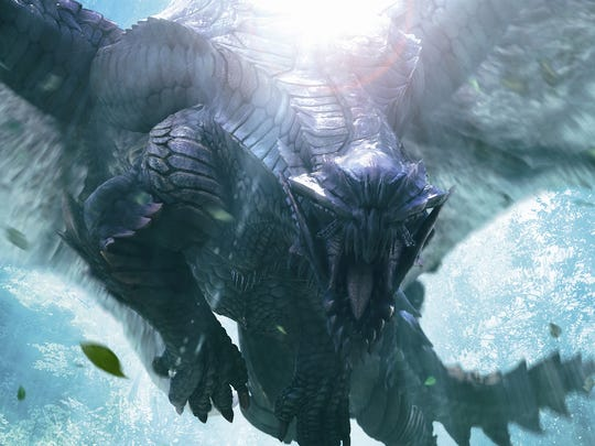 """Gore Magala is the flagship monster of """"Monster Hunter 4 Ultimate"""" and plays a key role in its story."""