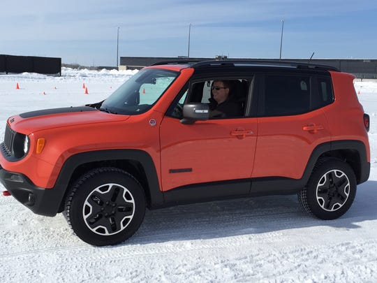 The new 2015 Jeep Renegade has two AWD systems with