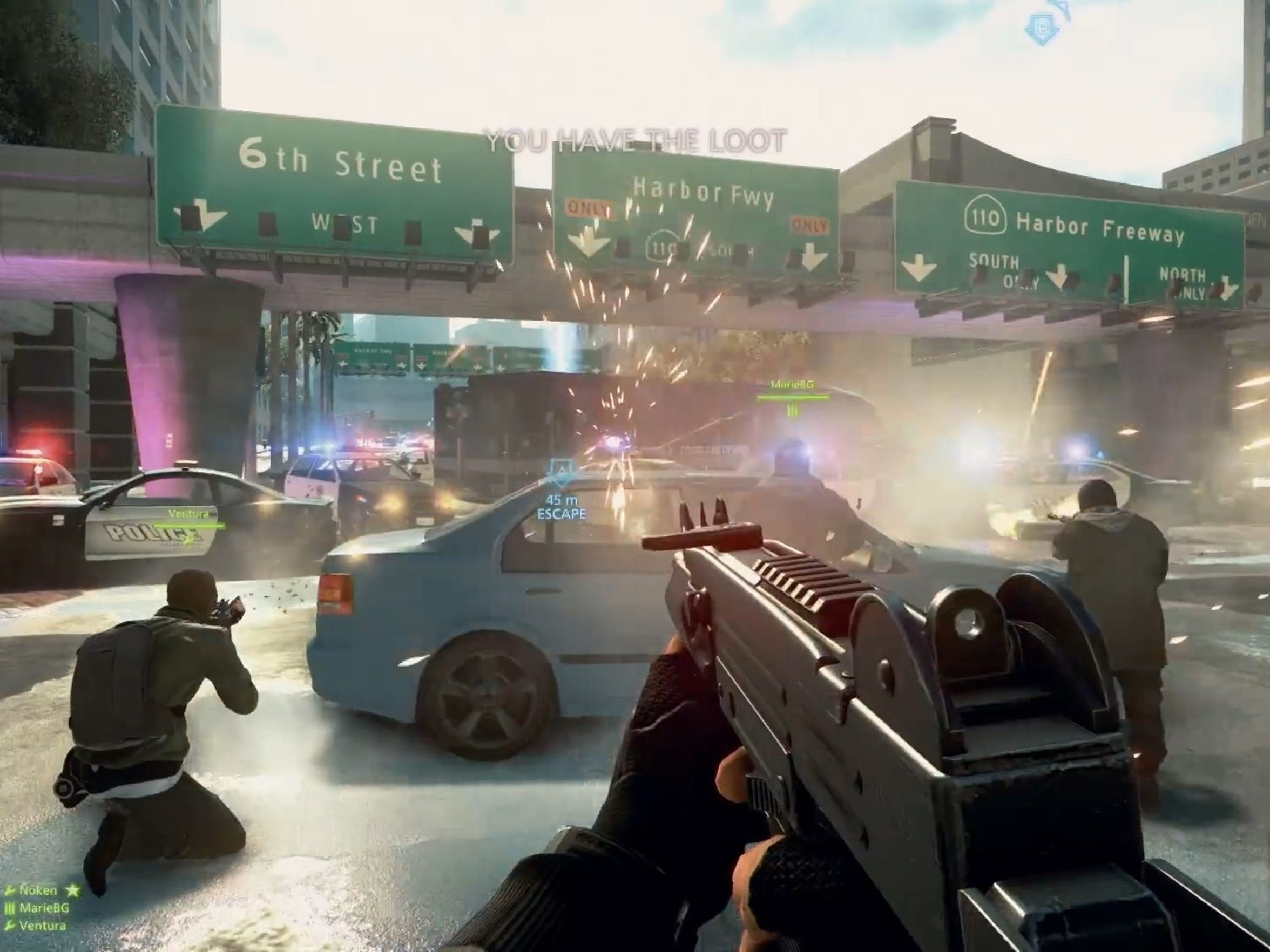 "The online component of ""Battlefield: Hardline"" features objective-based exercises, deathmatch and a fun Hot Wire vehicular mode."