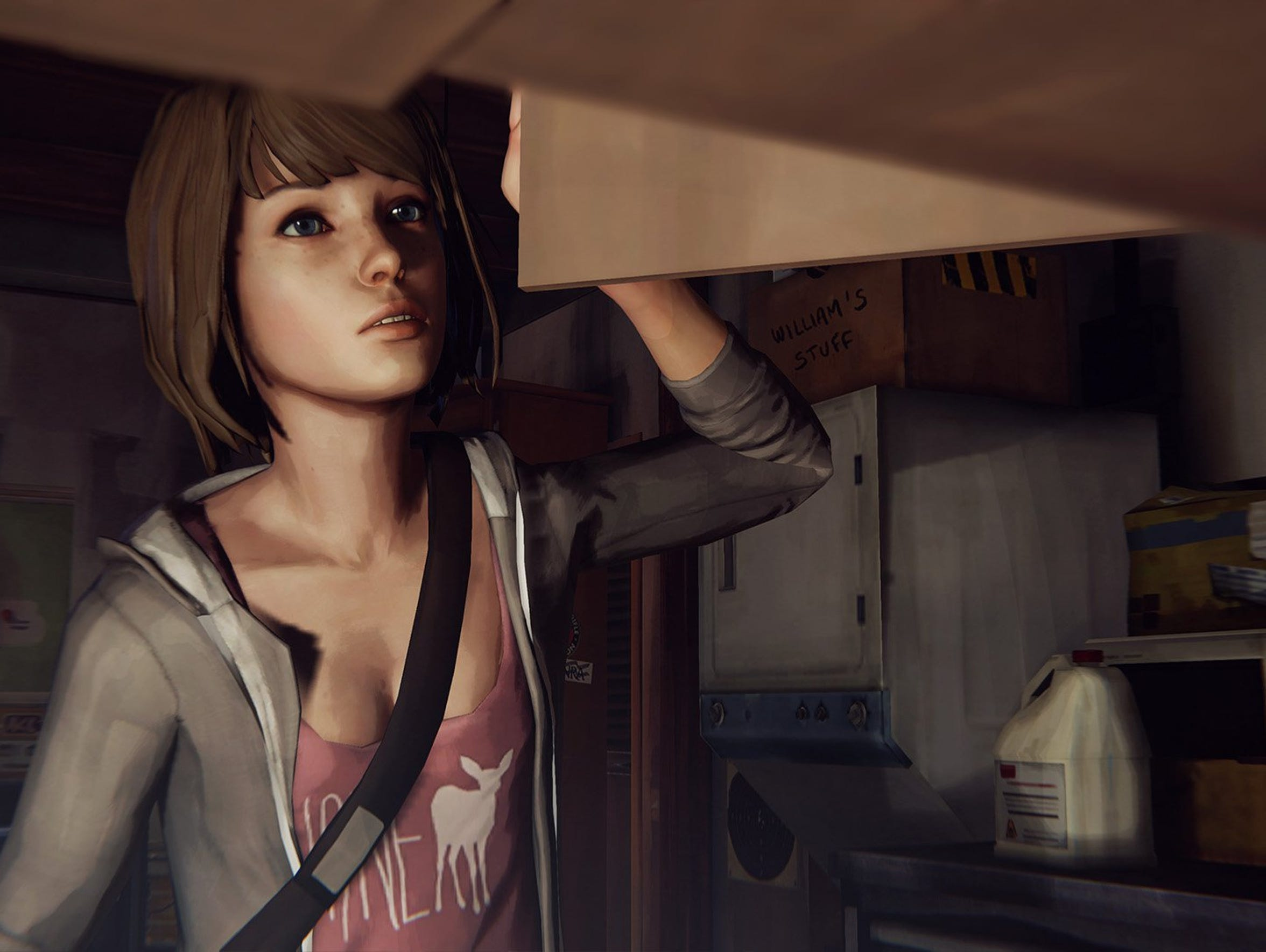 """Gameplay is """"Life is Strange"""" is story driven, requiring"""