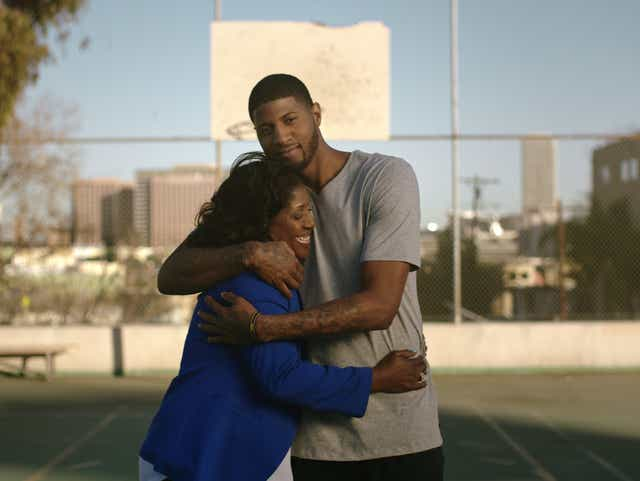 Paul George reflects on mother's stroke, contributes to awareness
