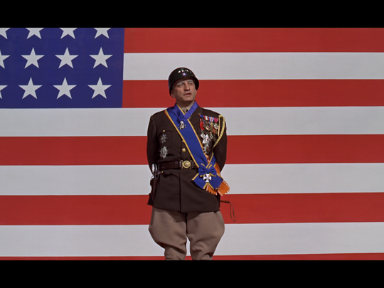 George C. Scott as General George S. Patton in the