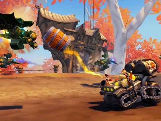 Screenshot of Skylanders SuperChargers