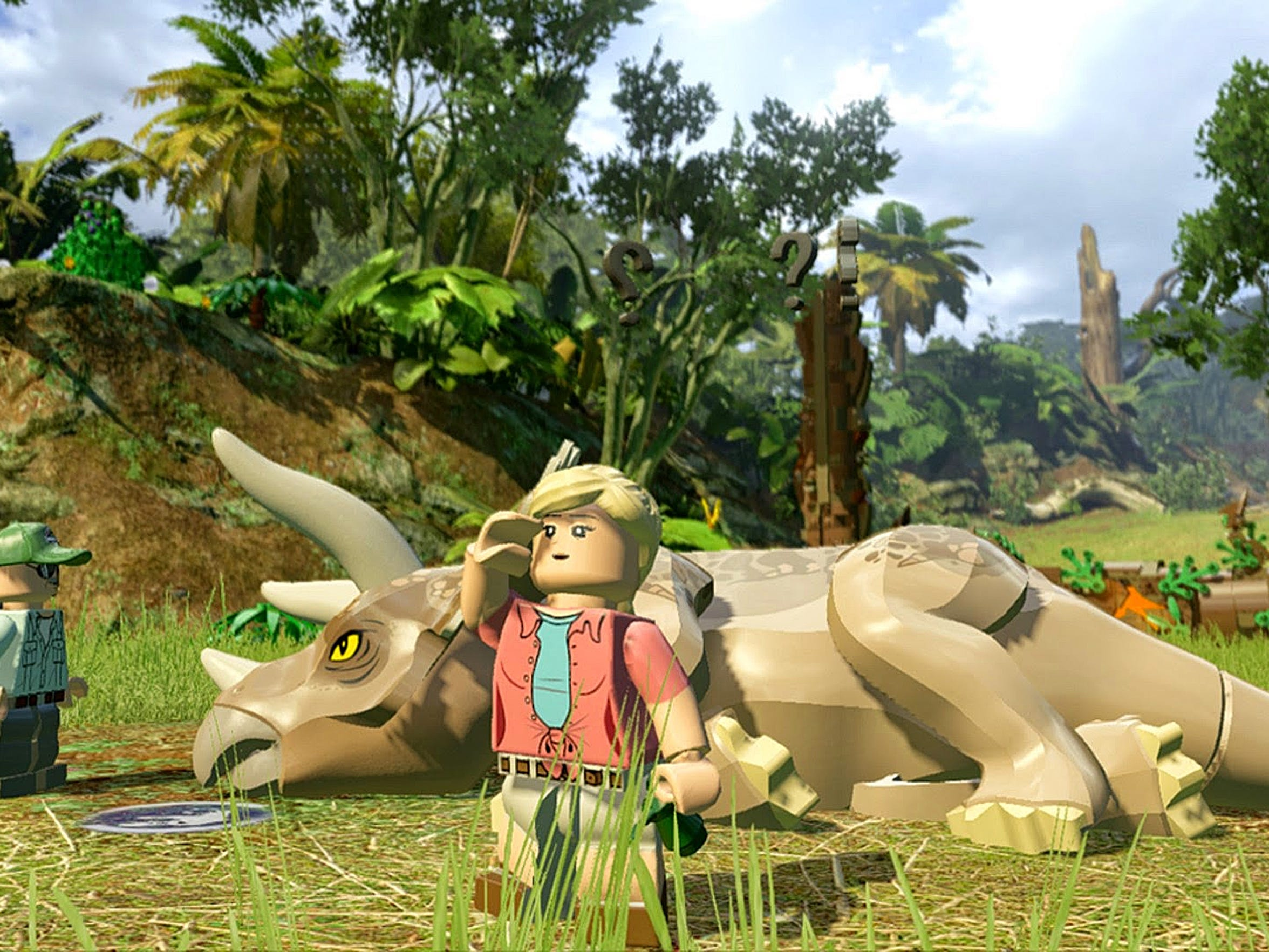 LEGO Jurassic World lets you relive iconic scenes in