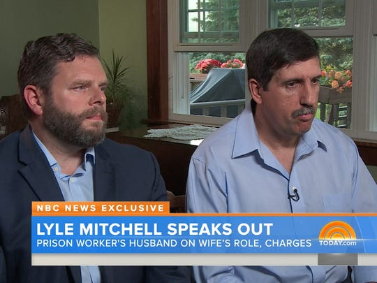 Lyle Mitchell, husband of prison worker Joyce Mitchell,