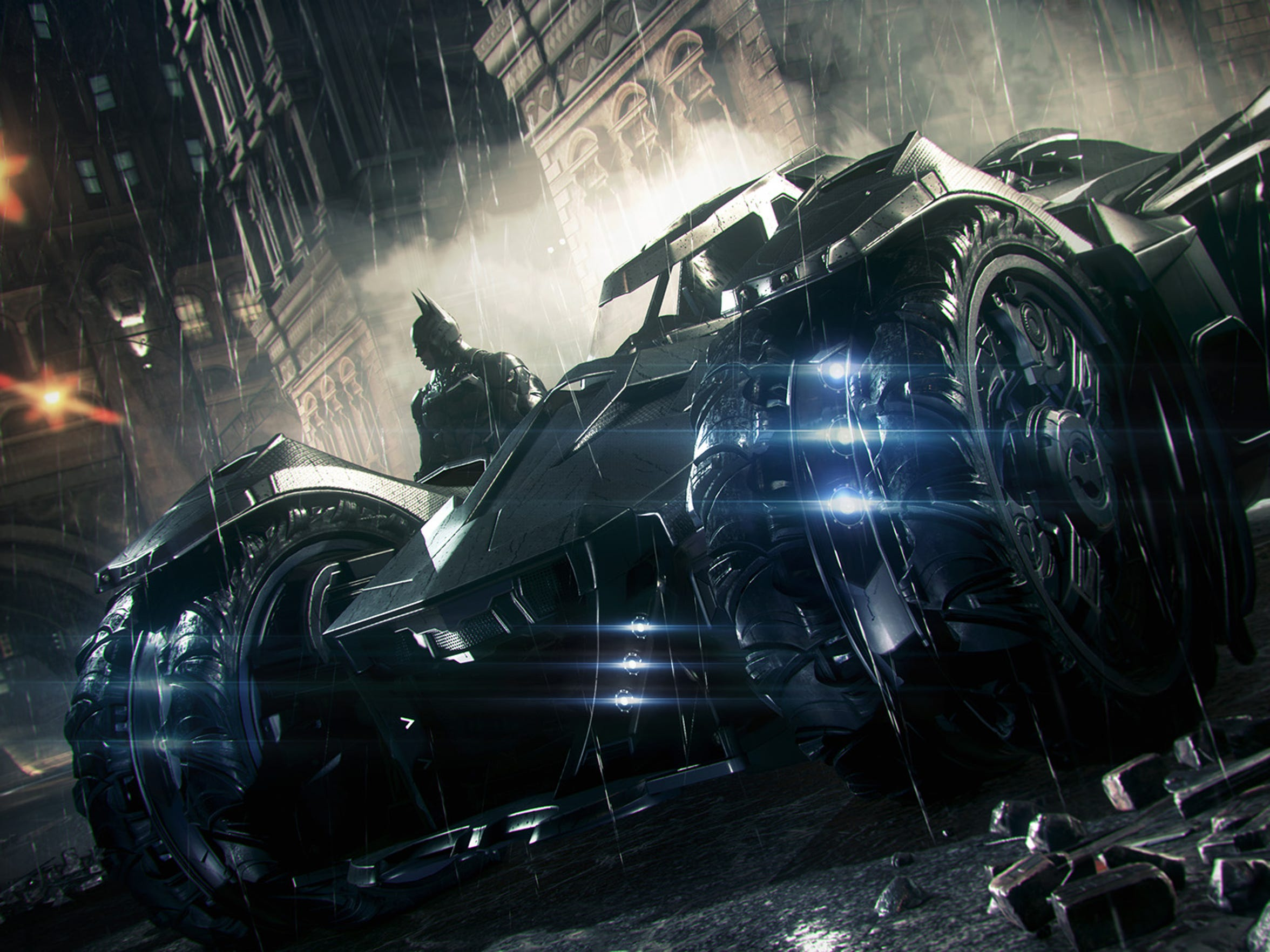 Be ready to see a lot of the new souped-up Batmobile