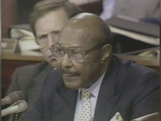 Louis Stokes, who was the first African-American member of Congress from Ohio, served 15 consecutive terms. He died late Aug. 18, 2015 at the age of 90 after a battle with cancer.