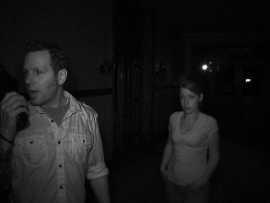 Investigators with the Atlantic Paranormal Society