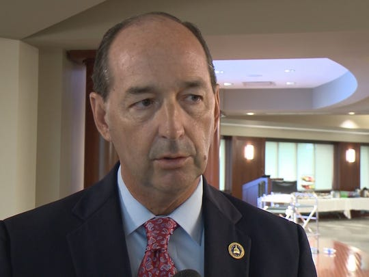 One of the top Democrats in the Kentucky House said that legislative leaders are discussing how to change Kentucky law to accommodate the religious objections of Kim Davis and other county clerks.  House Majority Floor Leader Rocky Adkins represents Rowan County in the statehouse.