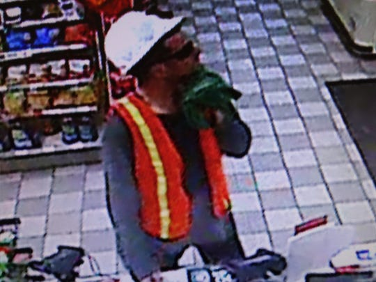 Suspect in 7-Eleven robbery Wednesday