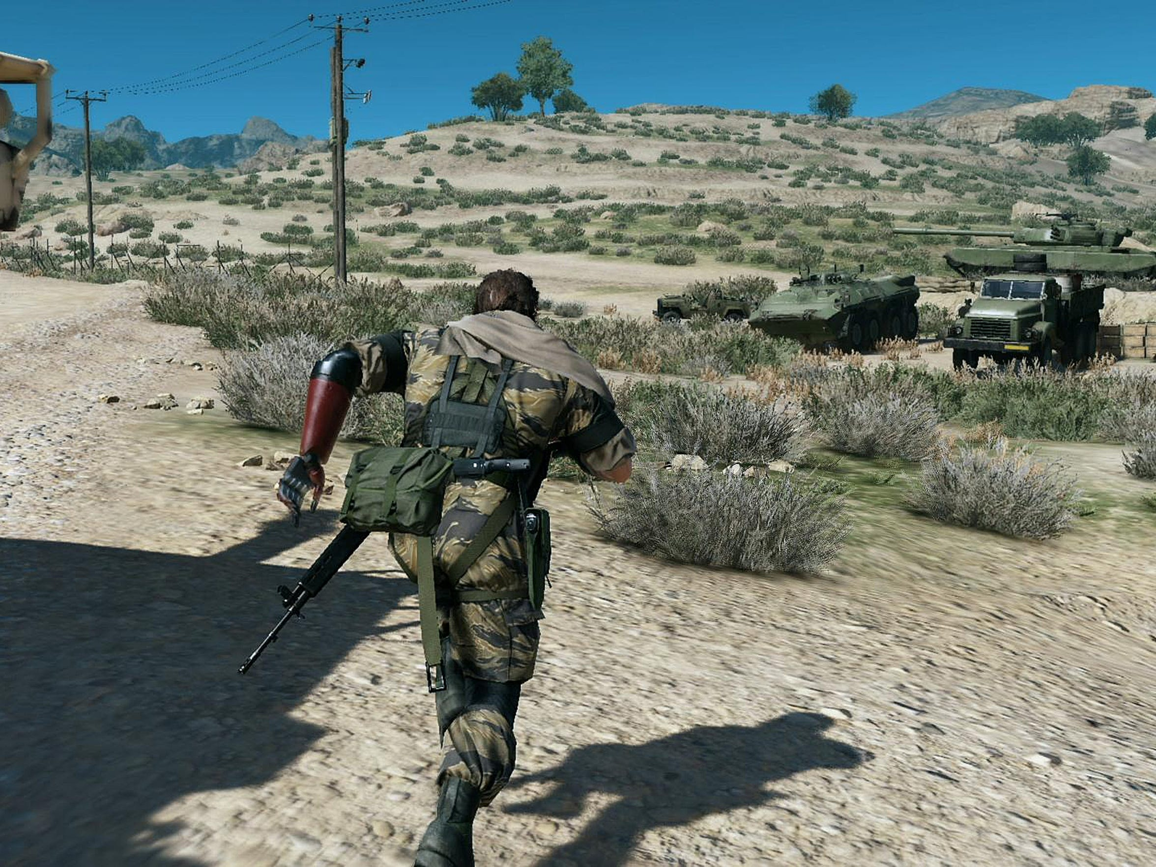 """""""Metal Gear Solid V: The Phantom Pain,"""" now features"""