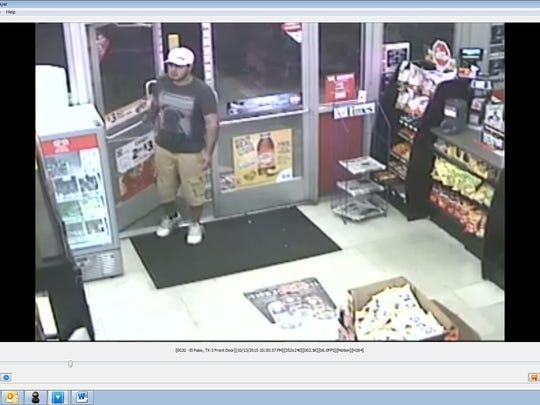 Man suspected in a string of knifepoint robberies in El Paso.