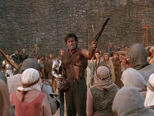 "Bruce Campbell in ""Army of Darkness."""