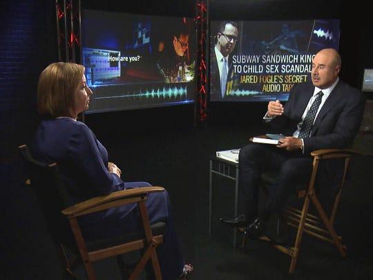"Phil McGraw interviews Rochelle Herman-Walrond on ""Dr."