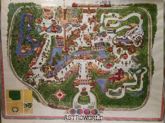 Astroworld map