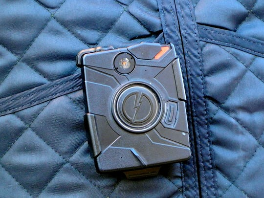 A body worn camera used by the Ithaca Police Department to record all law enforcement interactions.
