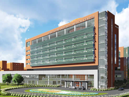 Jersey Shore University Medical Center in Neptune breaks ground on a $265 million project.