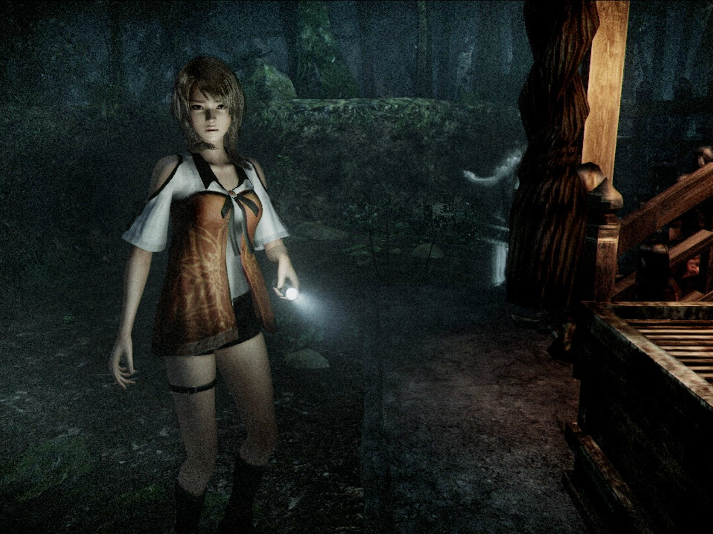 Fatal Frame: Maiden of Black Water lets you examine the mystery behind the rash of suicides and disappearances at Mt. Hikami.