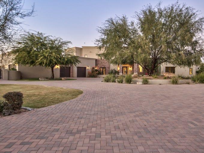 Sarah Palin's Scottsdale, Arizona, home.