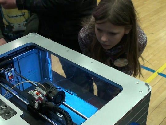 STEMpunk, the high school FIRST Robotics team out of