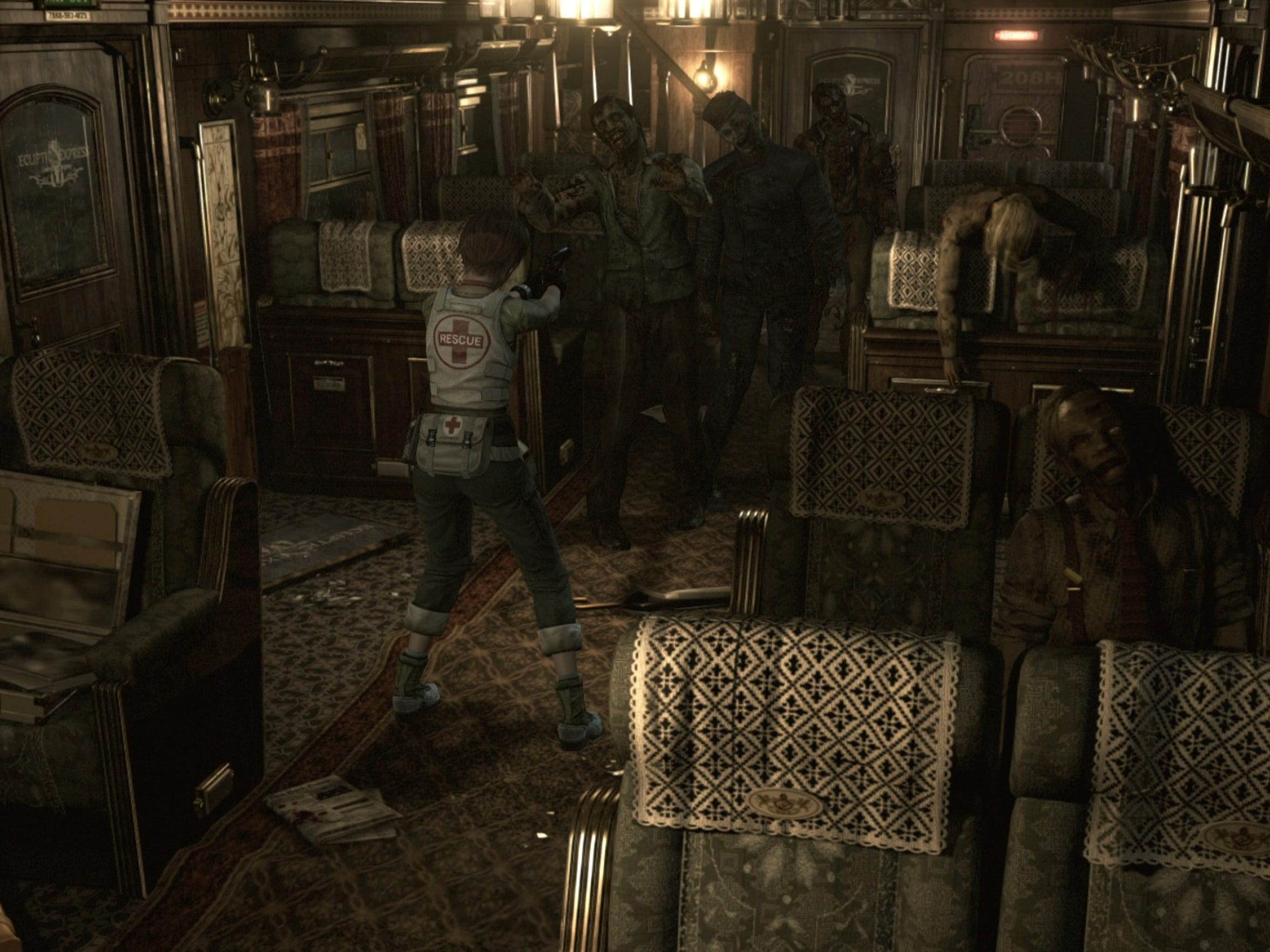 """Get back on the crazy train in """"Resident Evil 0 HD Remaster."""""""
