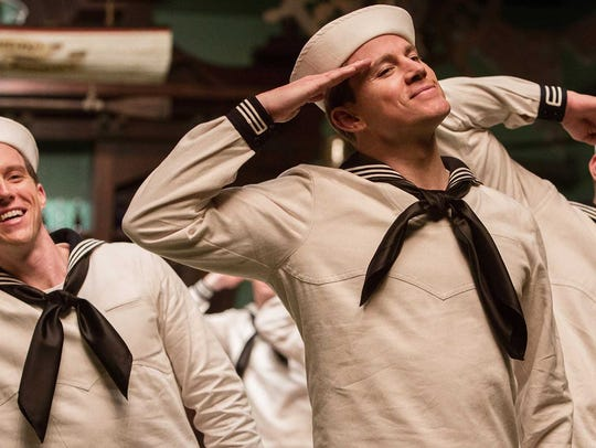 Channing Tatum sings and dances as a Gene Kelly-esque