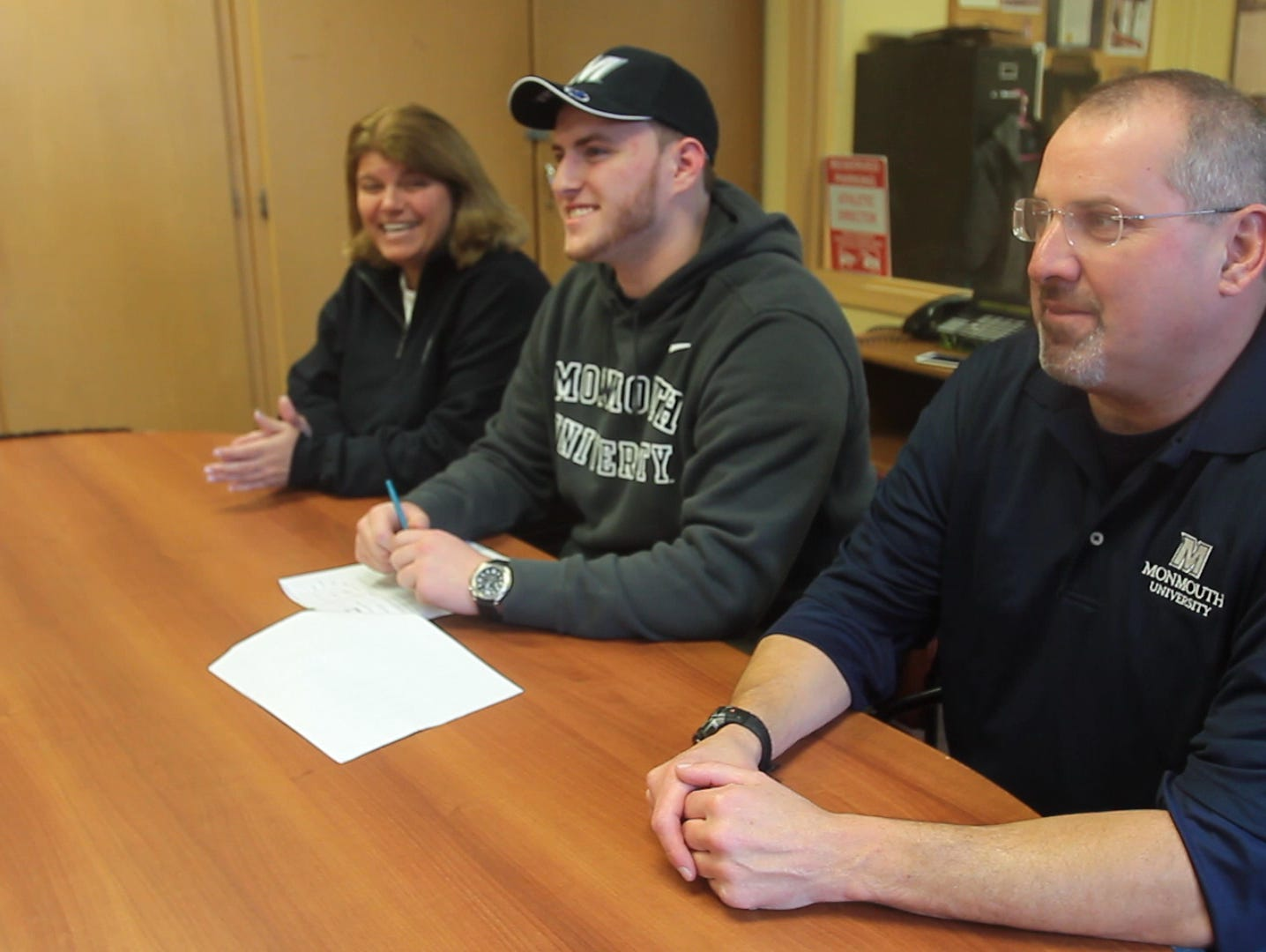 Brian Syracuse signed on to Monmouth University on Feb. 3, 2016 at Nanuet Senior High School.