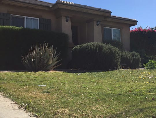 Luis Morin Jr. was shot to death on the lawn of this Coachella home in January 2014.