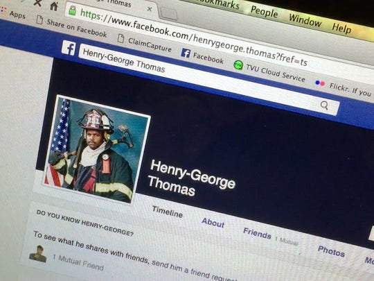Former Mount Vernon Firefighter Henry Thomas' Facebook page