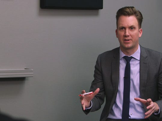 "Jordan Klepper of ""The Daily Show."""