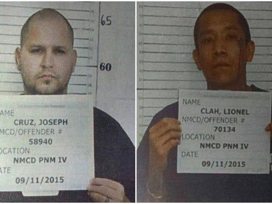 Joseph Cruz and Lionel Clah