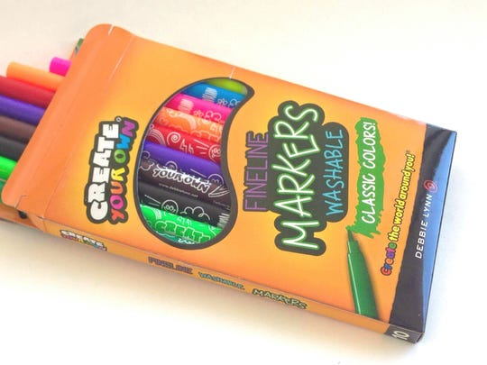 Creative kids might like these bright, washable Debbie Lynn markers in their Easter basket.