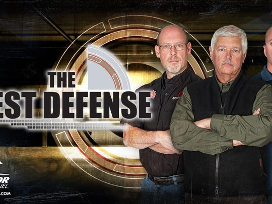 """A promotional image from """"The Best Defense"""" TV show"""