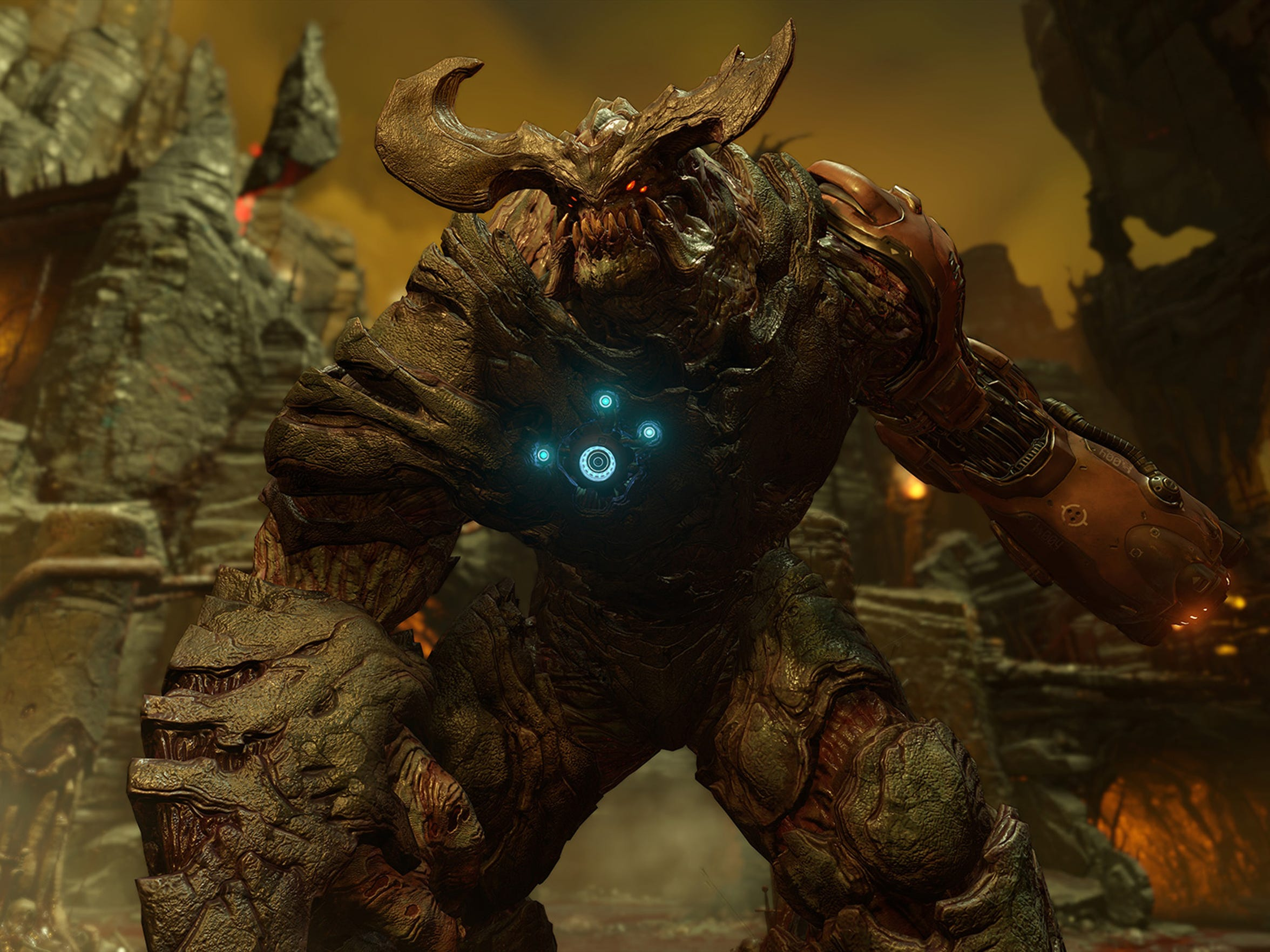 The Cyberdemon in Doom.