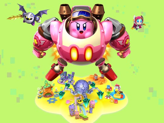 Kirby Planet Robobot for the Nintendo 3DS