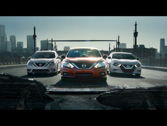 Nissan Altima in new ad campaign