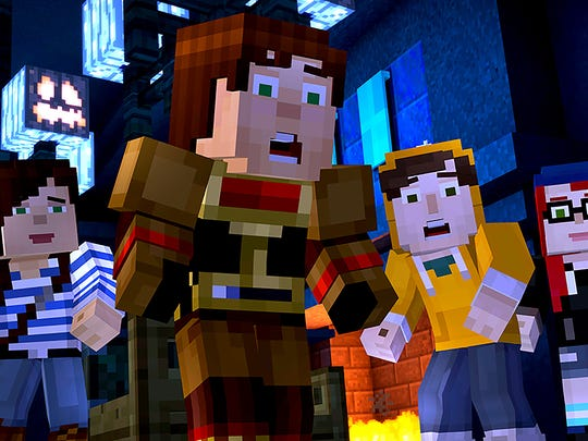 Minecraft Story Mode Episode 6: A Portal to Mystery.