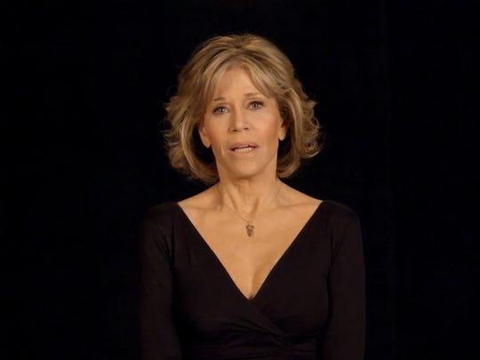 Jane Fonda in the tribute video to Orlando shooting
