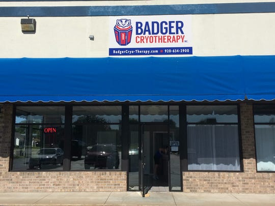 Badger Cryotherapy opened in early June on Glendale Avenue in Howard.