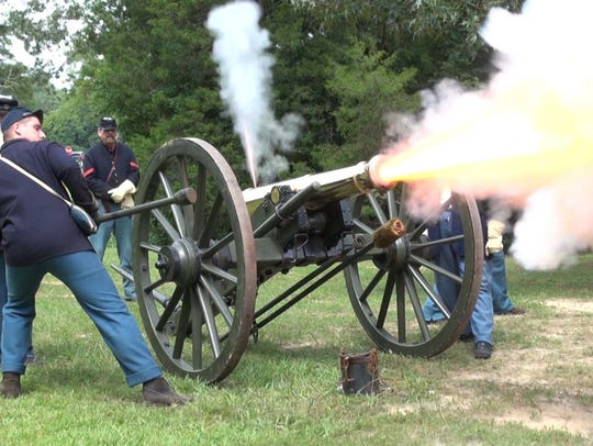 Shiloh National Military Park will be hosting cannon