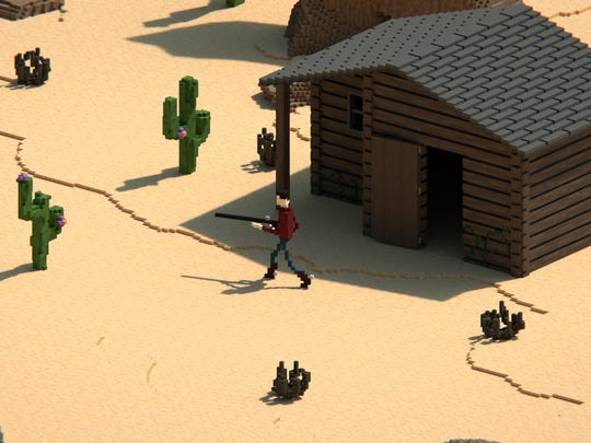"A screen capture of the ""Survive the West"" video game"