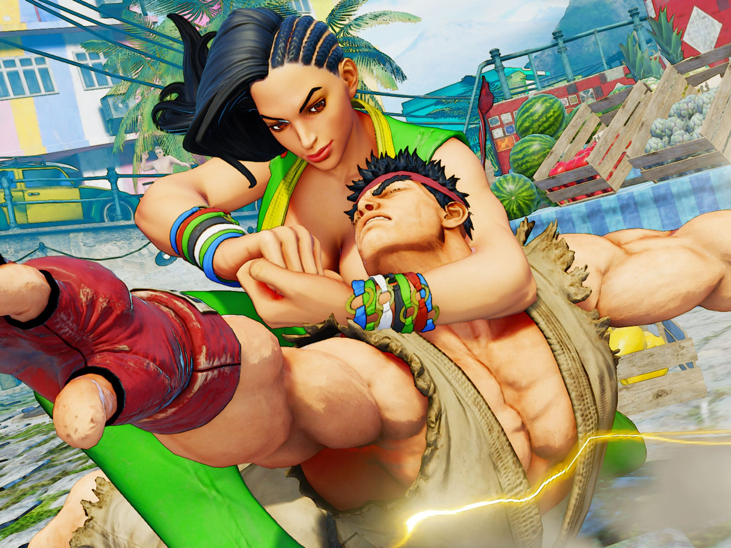 Street Fighter V also adds new characters such as Sean's