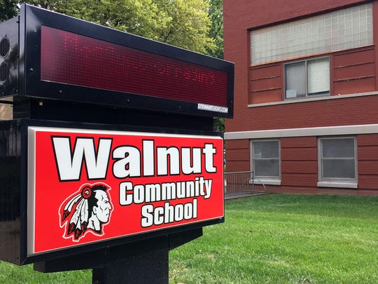 The vacant Walnut Community School is being eyed for its potential as a community center.