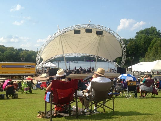 Hundreds came out to enjoy the 2nd annual Nat King Cole Society Jazz Festival on Sunday.