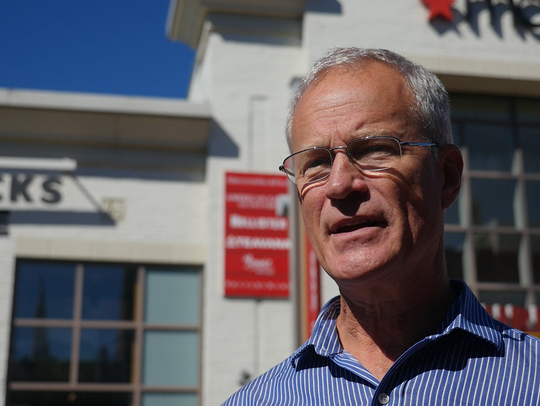 Ron Redmond, executive director of the Church Street
