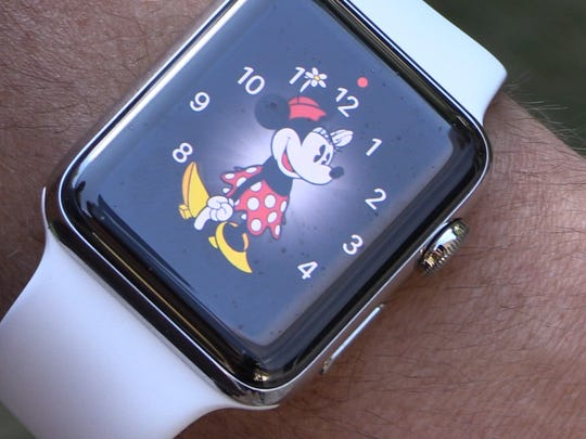 There's a new Minnie Mouse watchface on Apple Watch